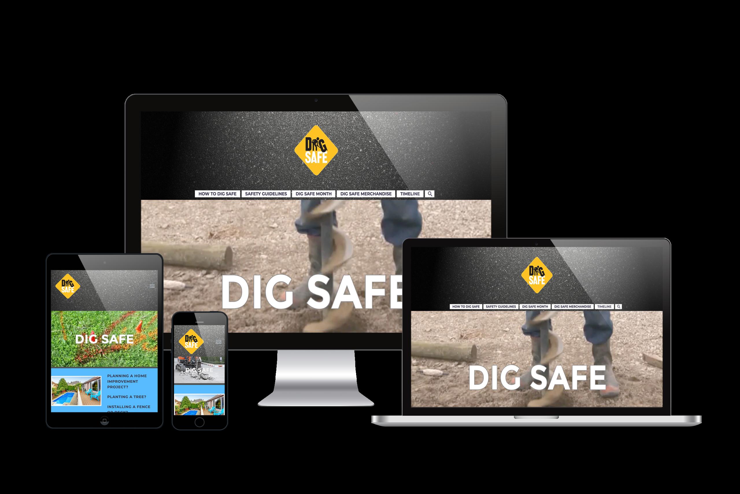 Dig-Safe-Web-Design