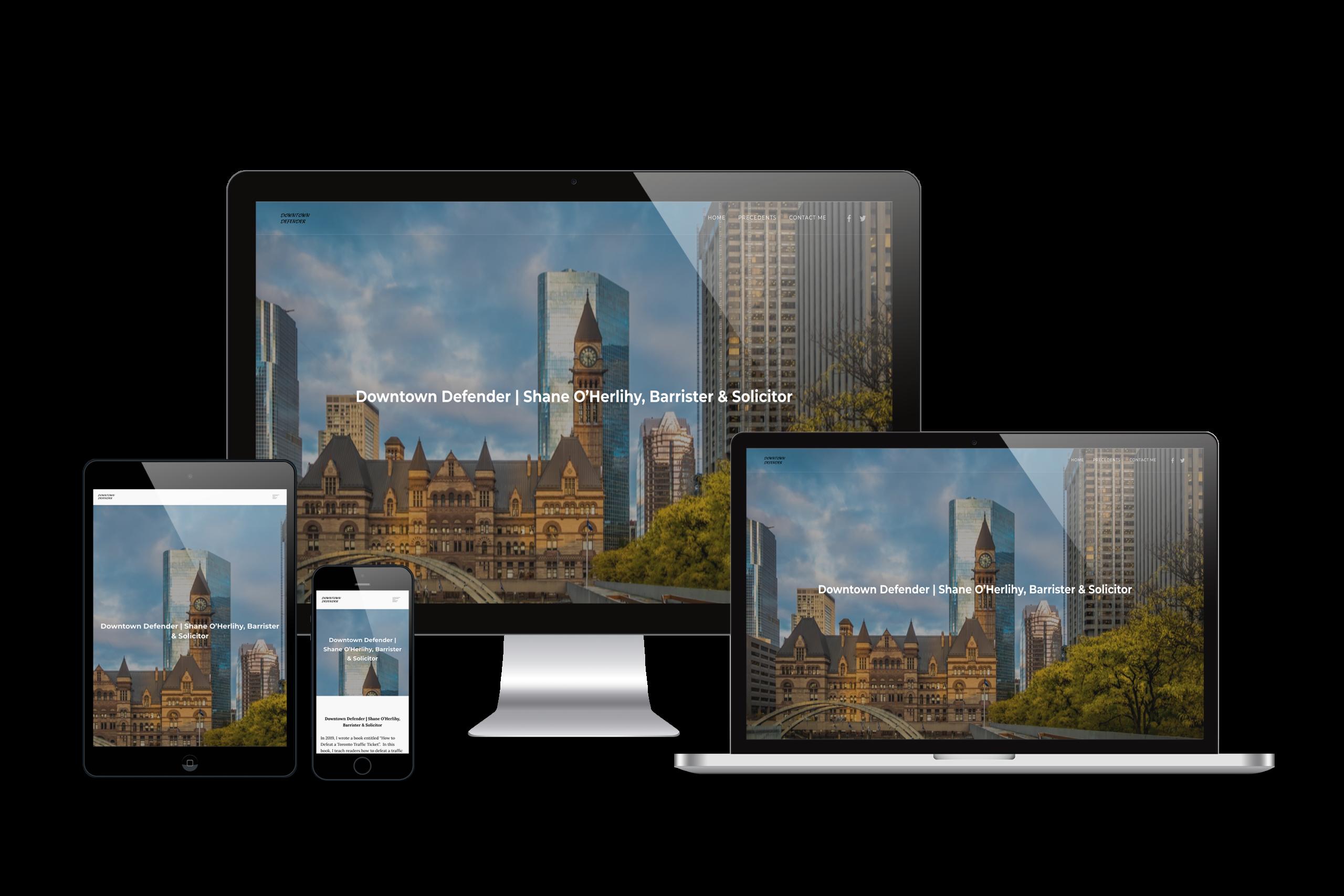 Downtown-Defender-Web-Design