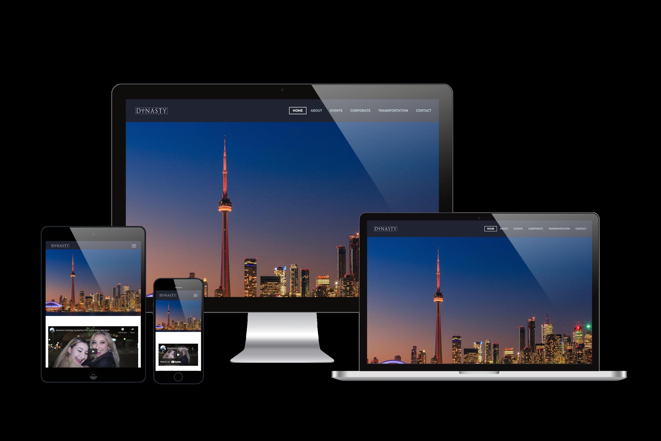 Dynasty-Events-Web-Design