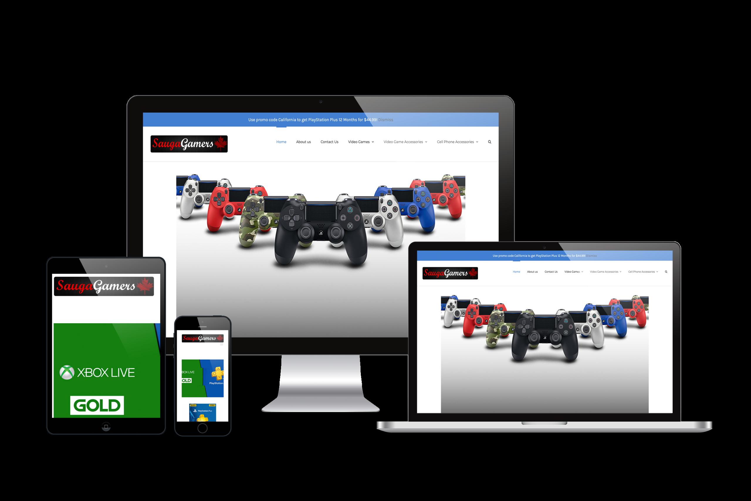 SaugaGamers-Web-Design